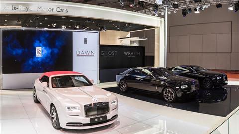 劳斯莱斯汽车携最具个性魅力产品阵容亮相2017上海国际车展_4