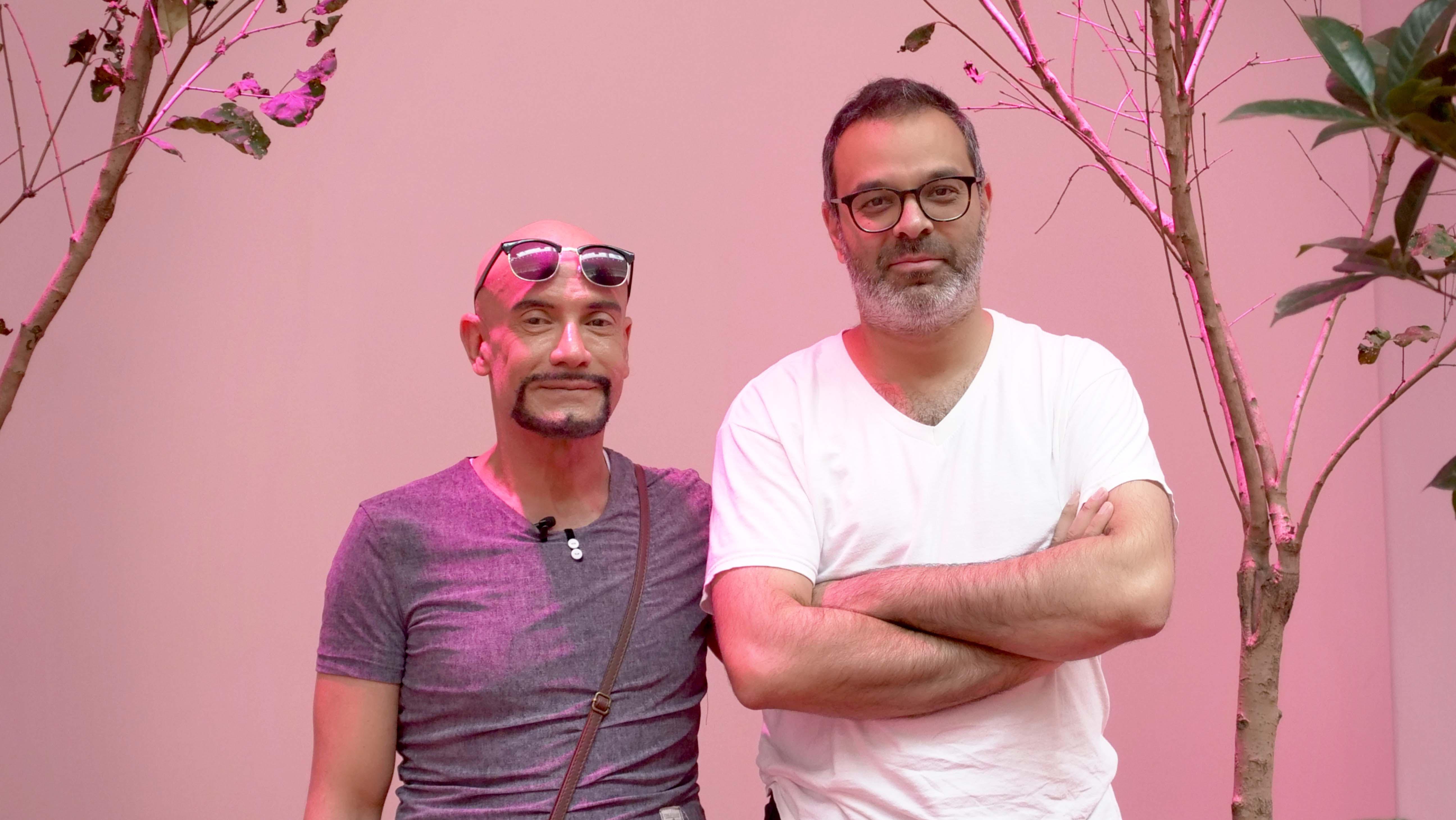 【新闻图片】知名艺术家阿萨德·拉扎