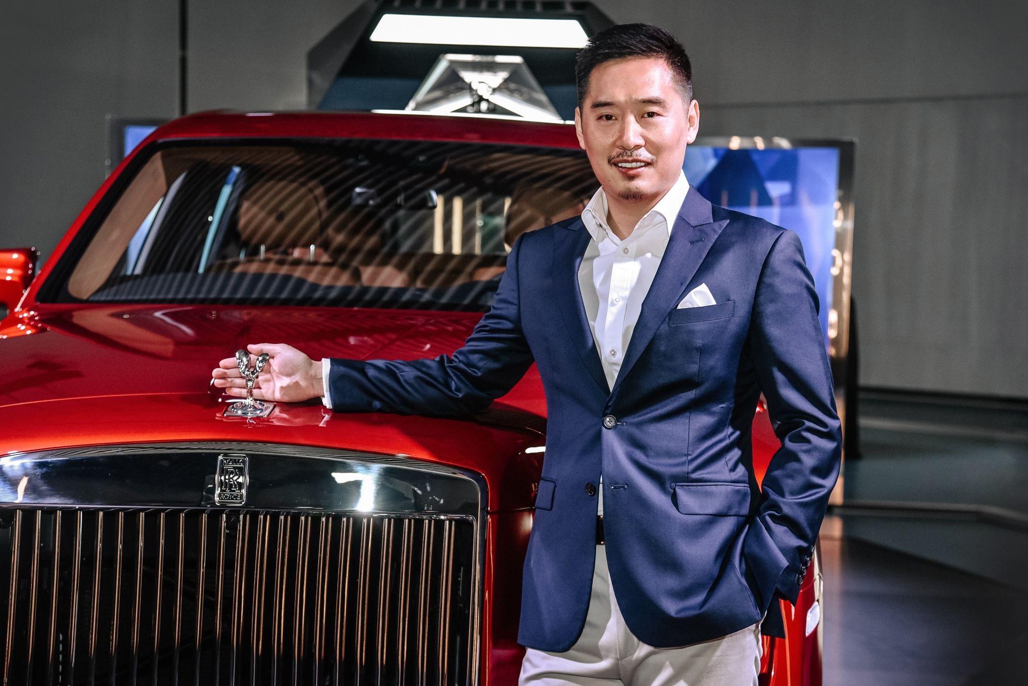 【新闻图片】劳斯莱斯汽车中国区总监李龙先生