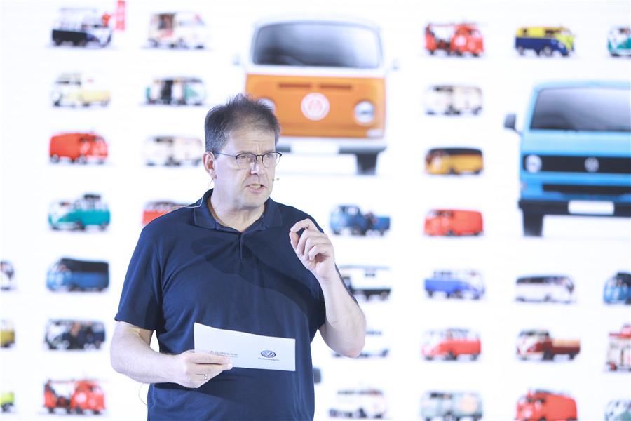 大众商旅车中国区总经理米夏斯先生