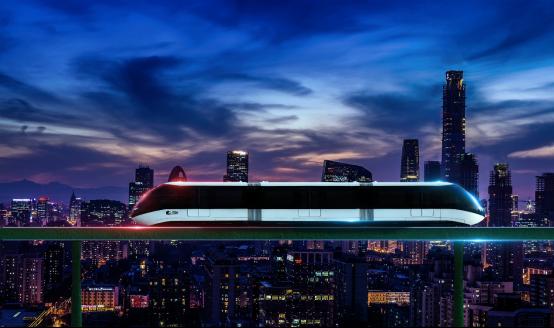 开启轨道交通新时代!全球首条云巴示范线在重庆发布(1)946