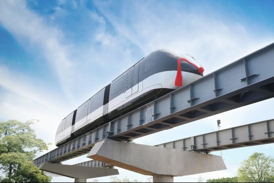开启轨道交通新时代!全球首条云巴示范线在重庆发布(1)620